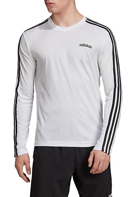 adidas Designed 2 Move Climalite 3 Stripes Tee