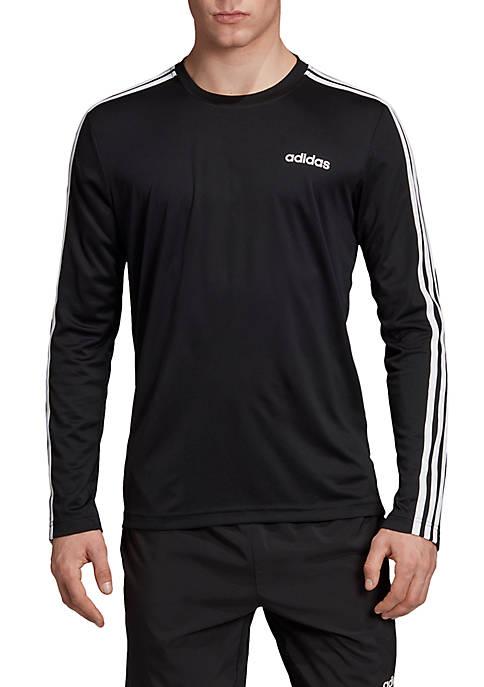 adidas Designed 2 Move Climalite 3-Stripes Tee