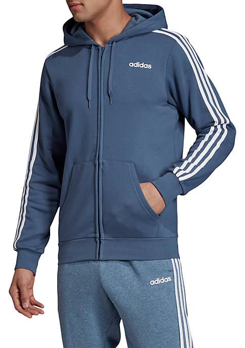 adidas Essentials 3 Stripes Full Zip Fleece