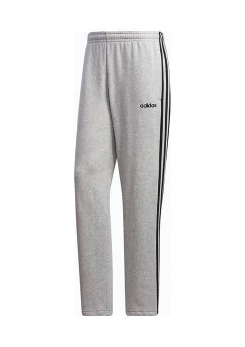 Essentials 3-Stripe Fleece Joggers