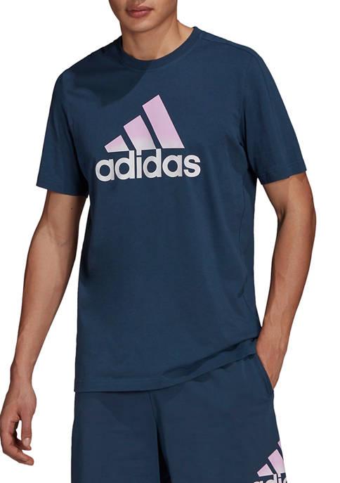 adidas Short Sleeve Cotton Logo Graphic T-Shirt