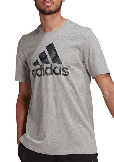 adidas Big & Tall Camo Logo T-Shirt