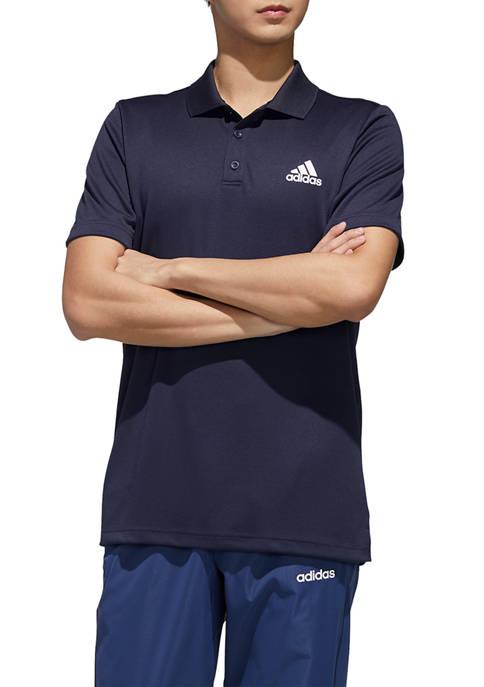 adidas Designed to Move 3-Stripes Polo Shirt