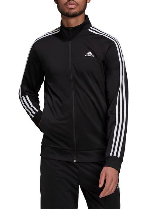 adidas Big & Tall Essentials 3 Stripe Tricot