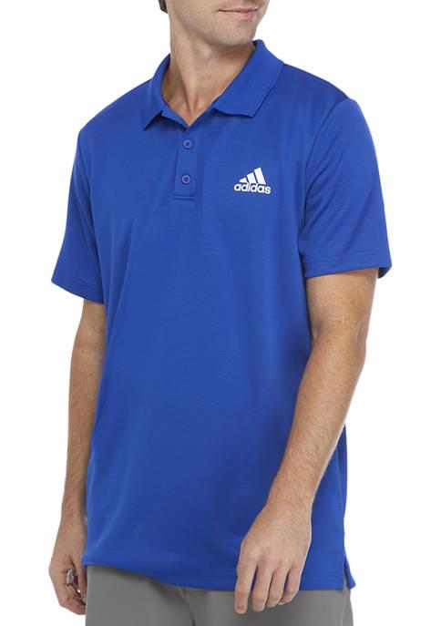adidas Short Sleeve Logo Polo Shirt