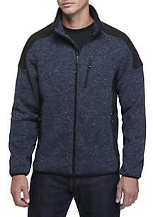 Shell Trim Sweater Fleece
