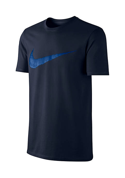 Nike® Big & Tall Short Sleeve Swoosh Graphic