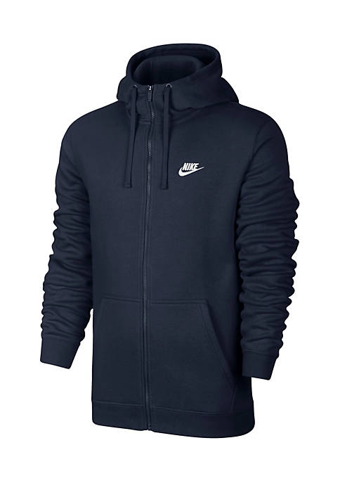 Nike® Big & Tall Full Zip Fleece Hoodie