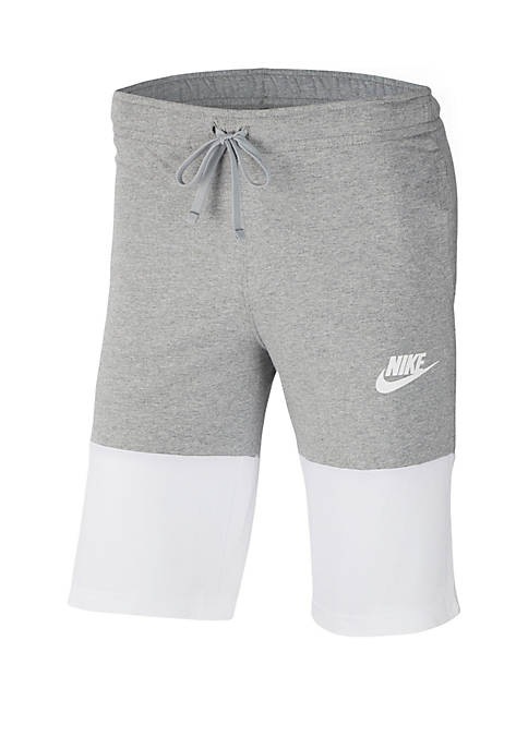 Nike® Club Jersey Color Block Shorts