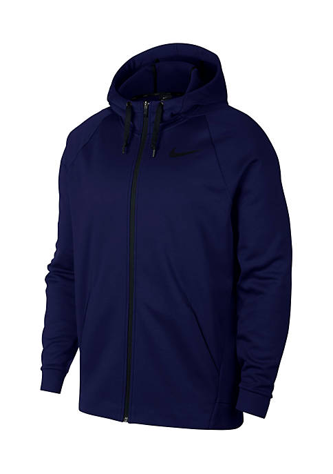 Nike® Long Sleeve Full Zip Therma Hoodie