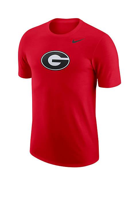Georgia Bulldogs Logo Cotton Short Sleeve Tee