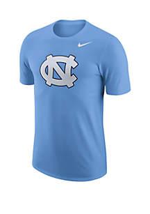 Nike® UNC Tar Heels Logo Cotton T Shirt