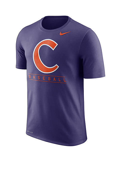 Clemson Tigers Short Sleeve Drifit Legend Tee