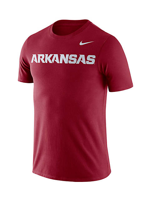 Nike® Arkansas Razorbacks Dri FIT Short Sleeve T
