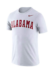 Nike® Alabama Crimson Tide Dri FIT Short Sleeve T Shirt