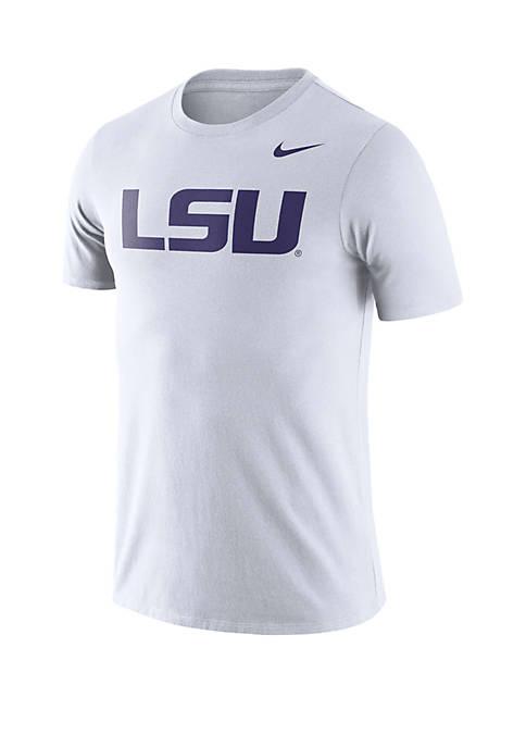 LSU Tigers Dri FIT Short Sleeve T Shirt
