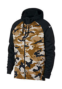 Full-Zip Camo Training Hoodie