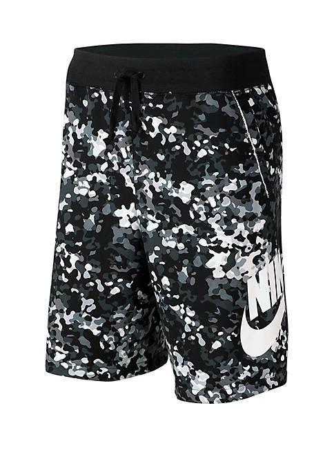 Nike® UTC Statement Camo Alumni Shorts