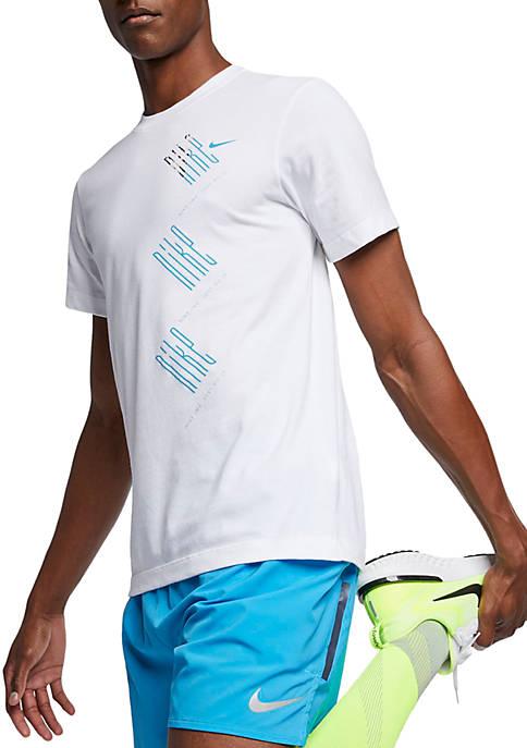 Nike® Dri Fit Run Wild T Shirt