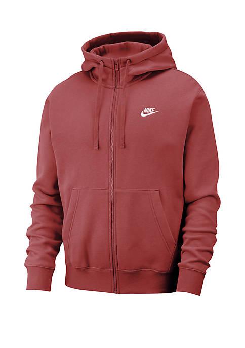 Nike® Sportswear Club Fleece Full-Zip Hoodie