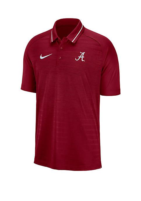 Nike® Alabama Crimson Tide Short Sleeve Polo Shirt