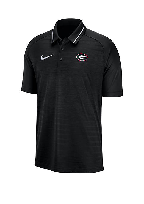 UGA Short Sleeve Polo Shirt