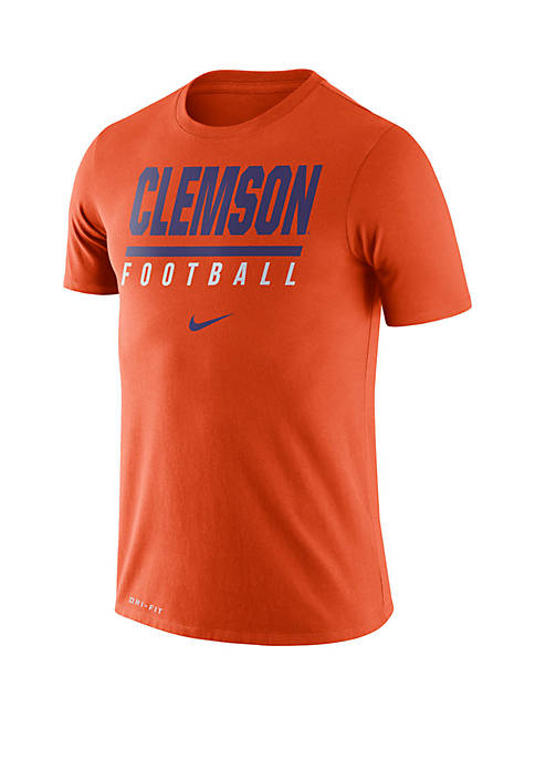 Nike® College Dri FIT Clemson Tigers T Shirt