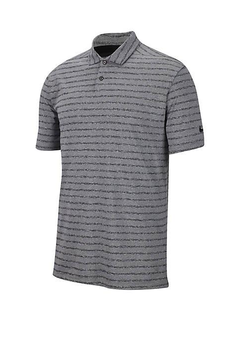 Dry Vapor Golf Polo Stripe T Shirt