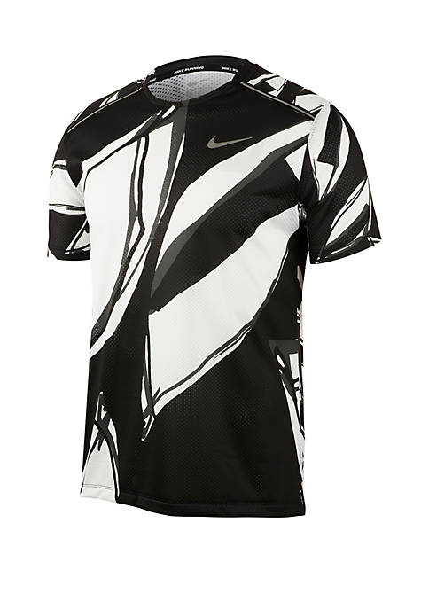 Nike® Dri-FIT Miler Short Sleeve Running Shirt