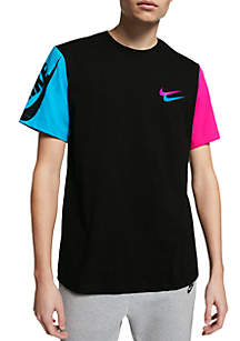 Nike® City Brights Colorblock Sleeve T Shirt