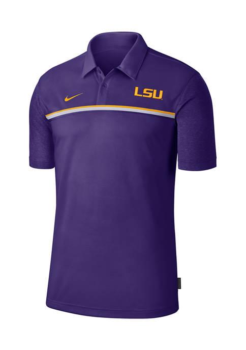 NCAA LSU Tigers Knit Polo Shirt