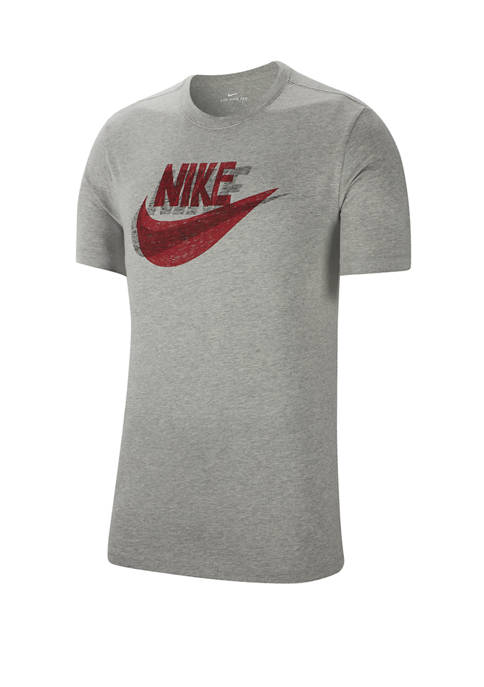 Nike® Short Sleeve Hand Drawn Logo Graphic T-Shirt