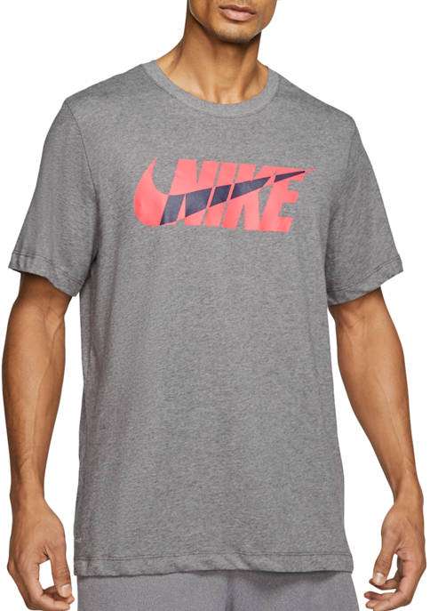 Dry Black Swoosh T-Shirt