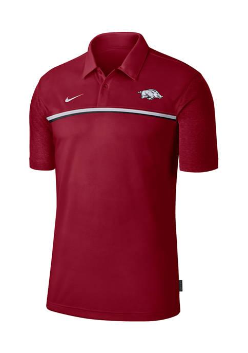 NCAA Arkansas Razorbacks Knit Polo Shirt