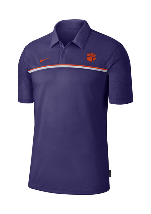 NCAA Clemson Tigers Knit Polo Shirt