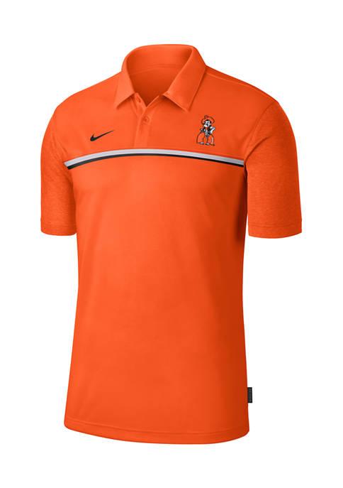 Nike® NCAA Oklahoma State Buckeyes Knit Polo Shirt