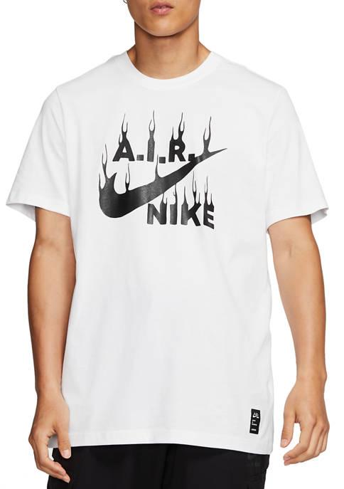 Nike® Short Sleeve AIR Graphic T-Shirt