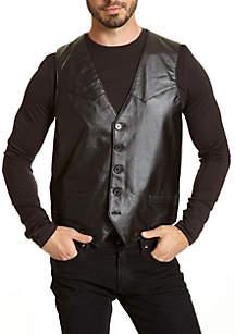 Premium Lambskin Leather Vest