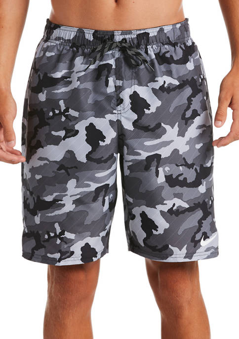 Nike® 9 Inch Camouflage Volley Shorts