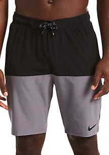 Nike® Split 9 in Volley Swim Shorts