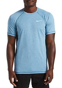 Nike® Heather Short Sleeve Hydroguard Shirt