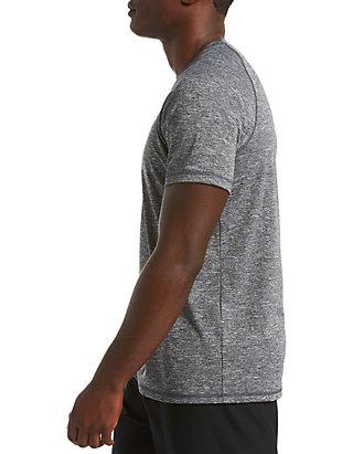 5b8fbc79c Nike® Heather Short Sleeve Hydroguard Shirt | belk