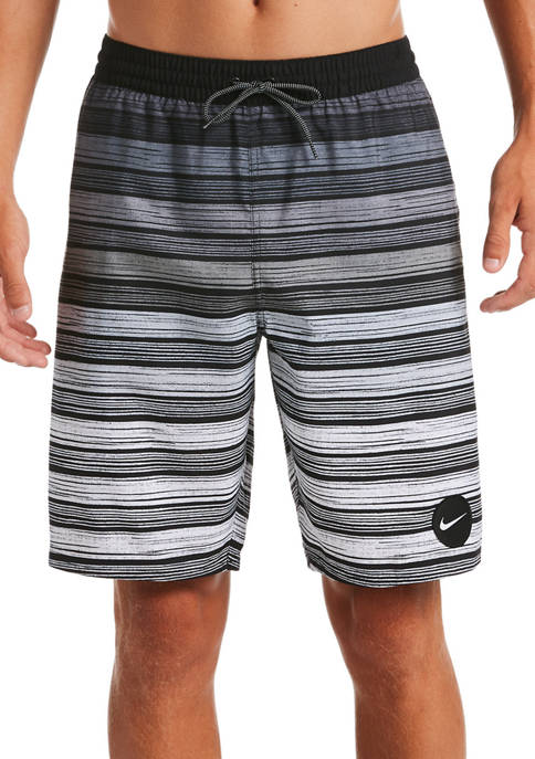 Nike® 9 Inch Stripe Breaker Volley Shorts