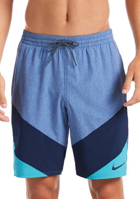 Nike® 9 Inch Logo Tape Vortex Volley Shorts