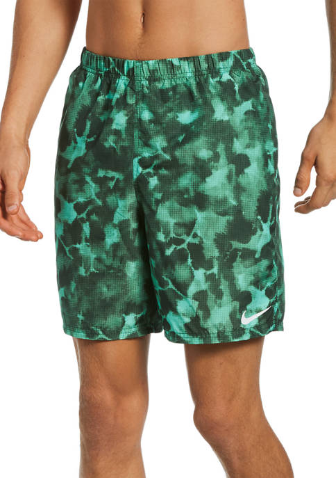 Nike® Cloud Dye Packable 7 Inch Volley Shorts