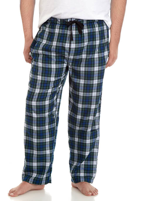 Big & Tall Polyester Rayon Pajama Pants