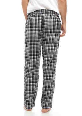 Men/'s IZOD Advantage Sleepwear Lounge Pants Blue Dog Print 100/% Rayon
