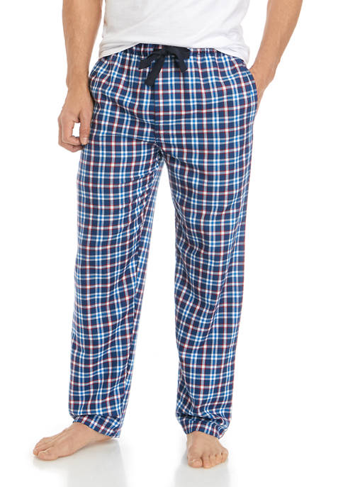 IZOD Mens Americana Plaid Sleep Pants