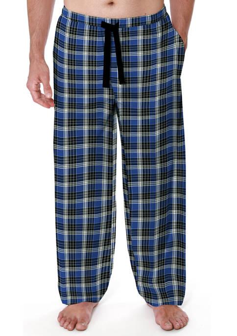 IZOD Big & Tall Woven Twill Pajama Pants