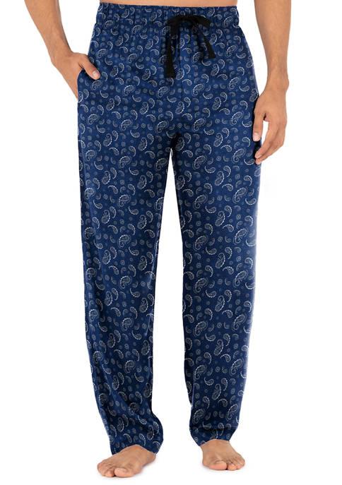 Rayon Paisley Sleep Pants